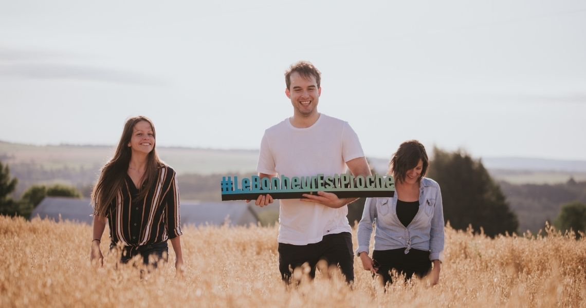 Partagez vos meilleurs moments chez nous avec le #lebonheurestproche - Crédit photo: Les Maximes