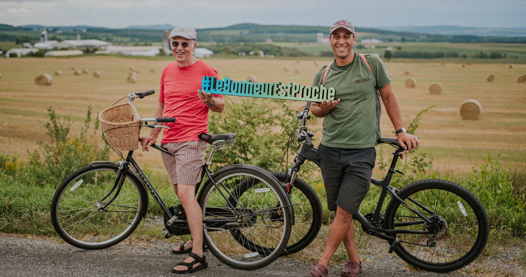 La Véloroute des Appalaches et ses itinéraires vélo, votre passeport bonheur! - Crédit photo: Les Maximes