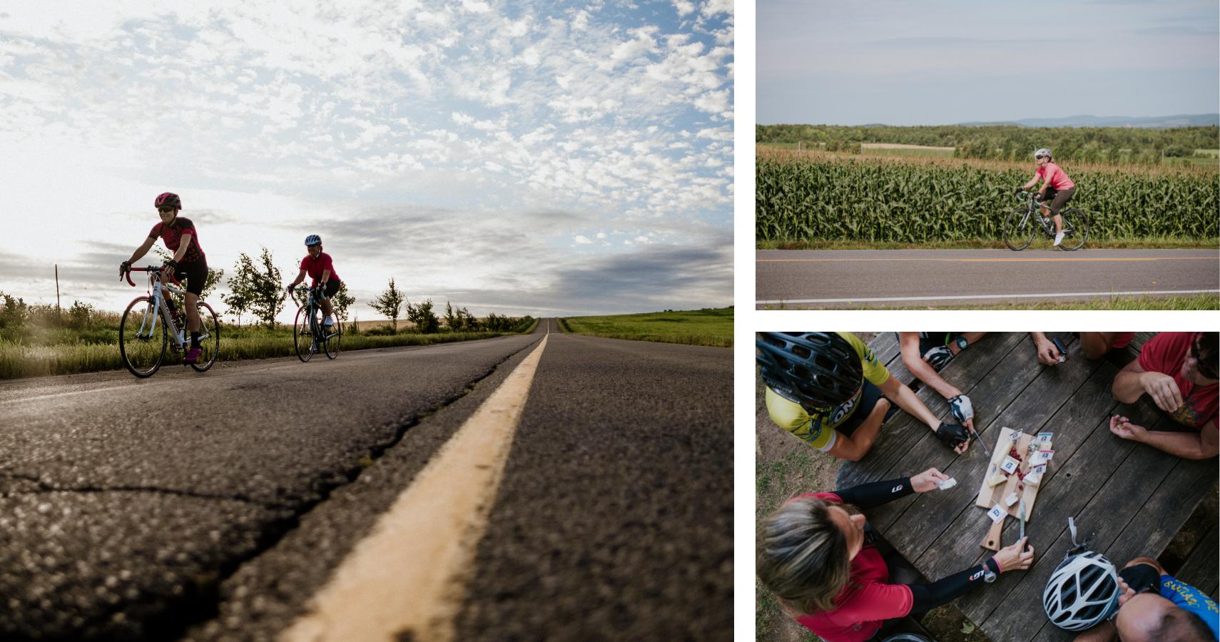 Le circuit de La Plaine, un itinéraire vélo qui vous en mettra plein les yeux et la bouche! - Crédits photos: Les Maximes