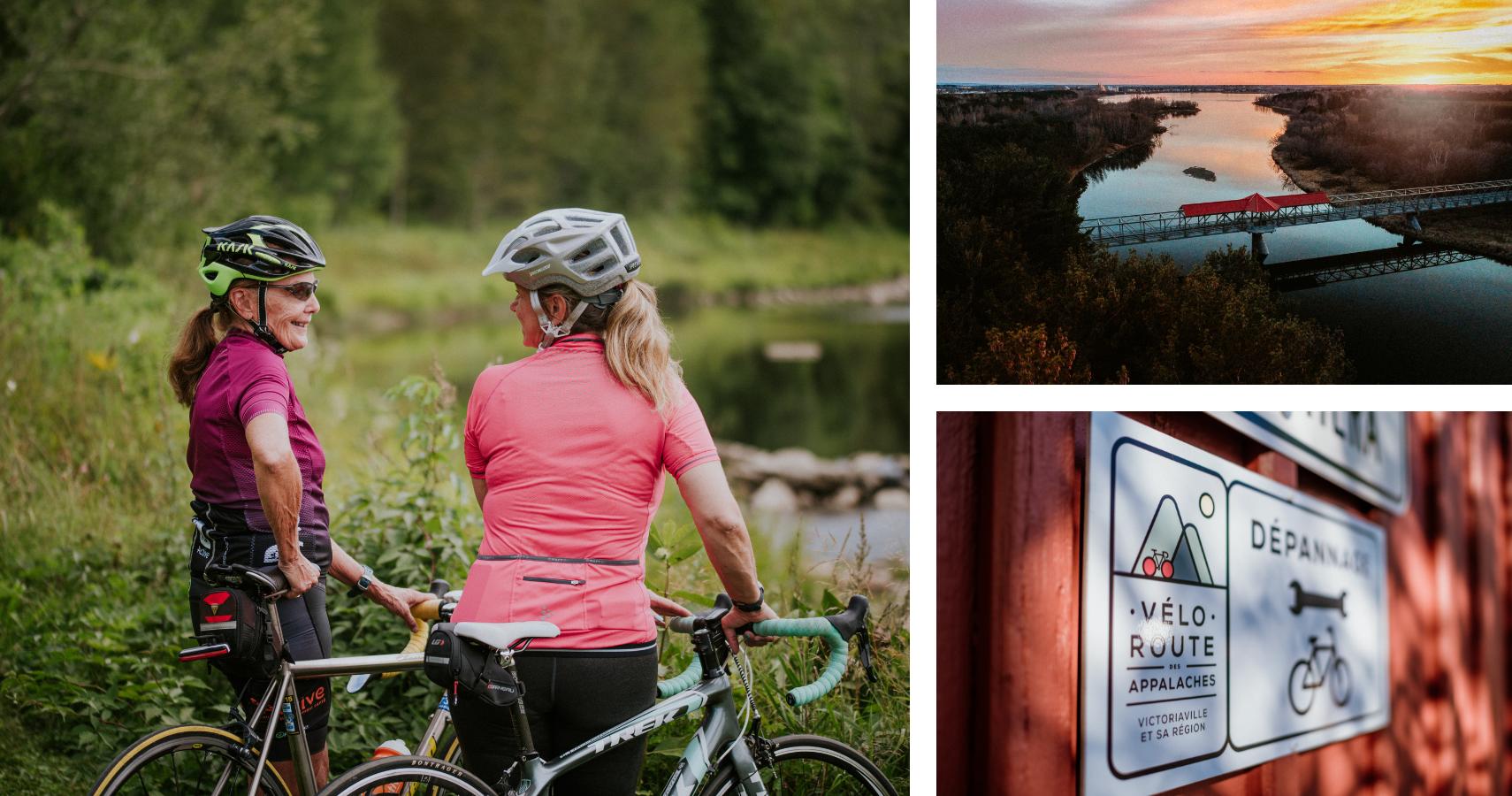 L'itinéraire vélo de la Boucle Bulstrode prend son départ au parc du Réservoir-Beaudet - Crédits photos: Les Maximes
