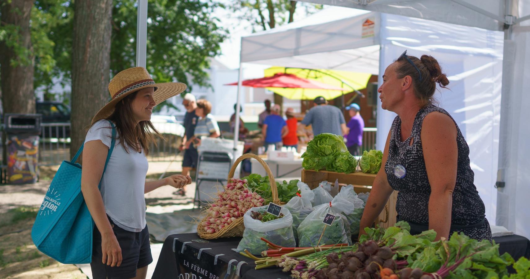 Nos marchés publics: c'est bon, c'est beau et c'est toujours frais - Crédit photo: Guy Samson