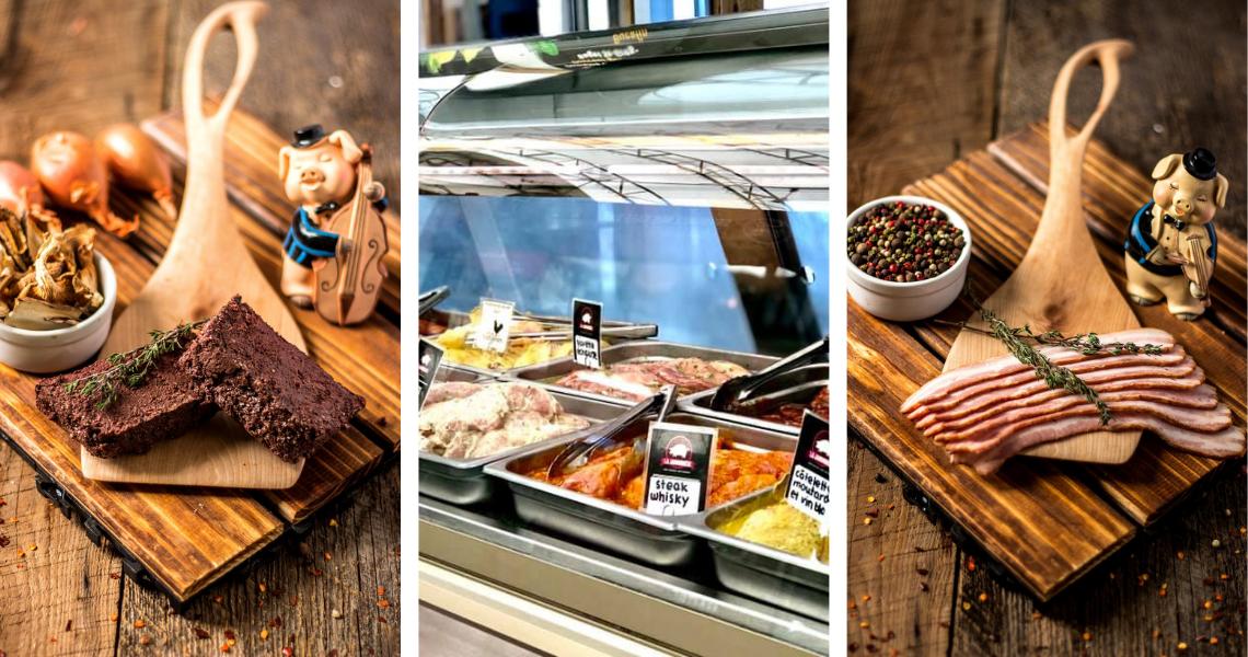 Une trentaine de variétés de saucisse, des charcuteries, des coupes de viande bien préparées; vraiment de tout pour créer le plus beau festin à La Jambonnière!