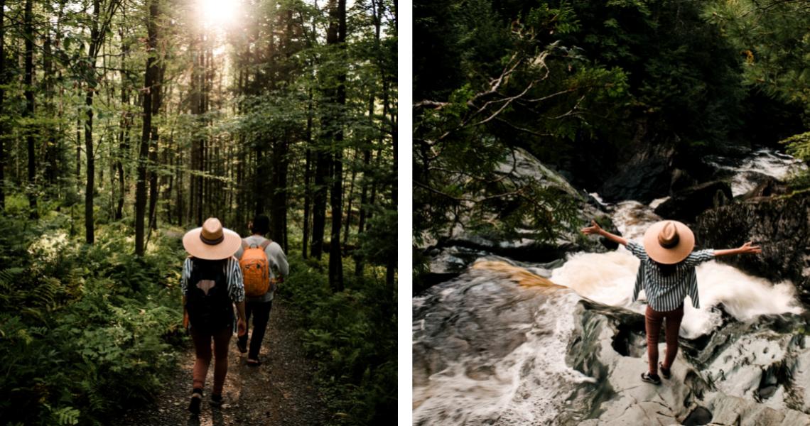 Le Sentier des Cascades, aussi beau que surprenant - Crédits photos: Les Maximes
