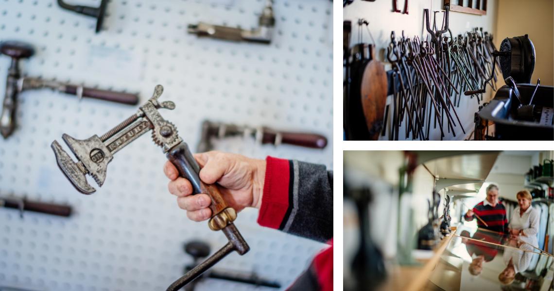 Le Musée des outils anciens - Crédits photos: Les Maximes