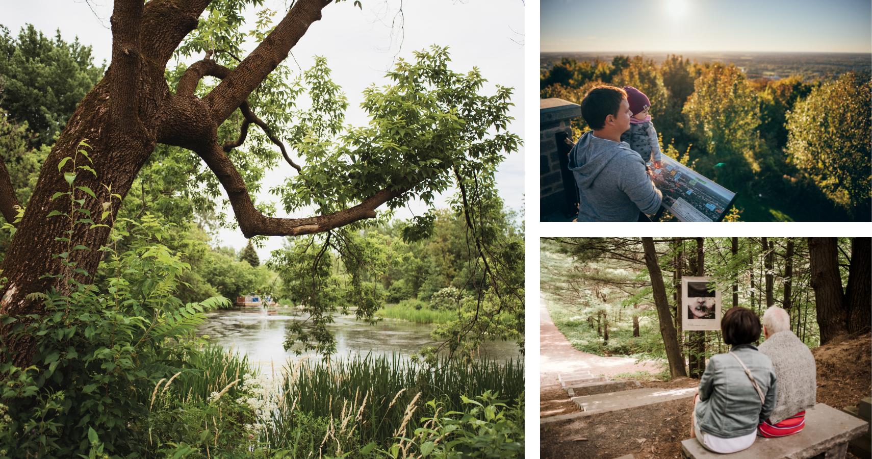Une ville entourée de parcs accessibles et tout simplement magnifiques - Crédits photos : Les Maximes