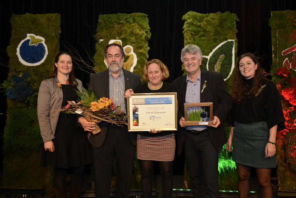 Prix du meilleur projet en agriculture urbaine pour le Jardin des rendez-vous