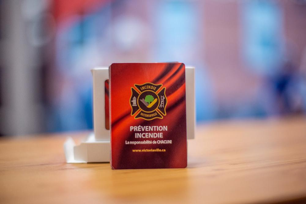 Jeu de cartes et cahier d'activités du Service de la sécurité publique