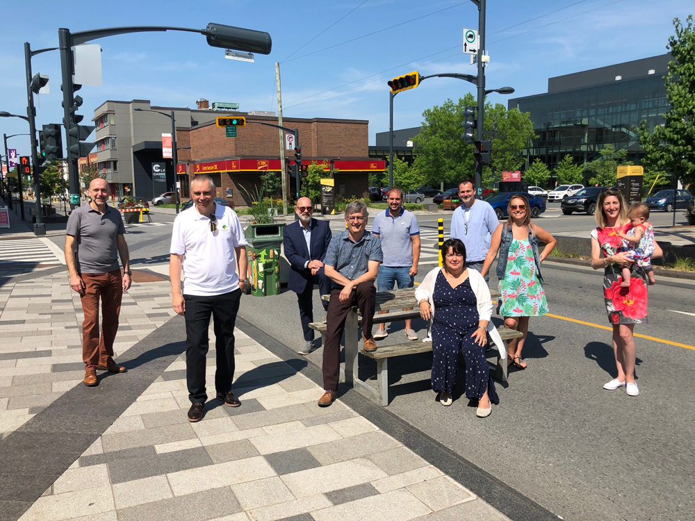 La Ville de Victoriaville et le Quartier Notre-Dame préparent un bel été au centre-ville