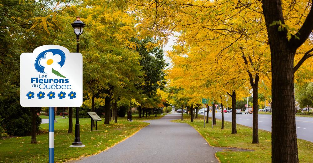 Renouvellement de notre adhésion aux Fleurons du Québec