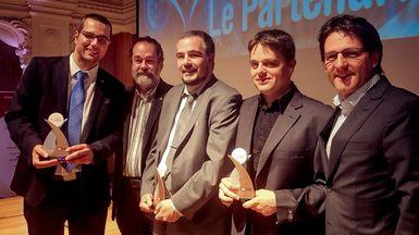 L'innovation de l'UQTR, du Groupe Sani Marc et de la Ville de Victoriaville reconnue