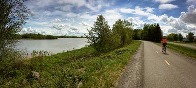 Fermeture temporaire de la piste cyclable au réservoir Beaudet