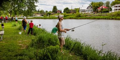 Un concept de pêche urbaine unique au Québec!