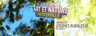Rendez-vous en 2016 pour le 10e anniversaire de Clairière - Art et nature