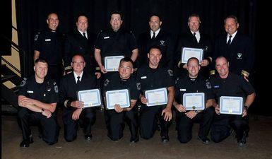 Près de 80 nouveaux diplômés du Centre régional de formation des pompiers