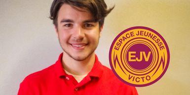 William Lemieux, 17 ans, élu vice-président d'Espace Jeunesse Victo