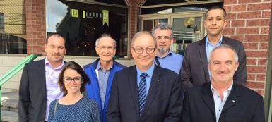 Victoriaville accueille une délégation de la ville de Colomiers