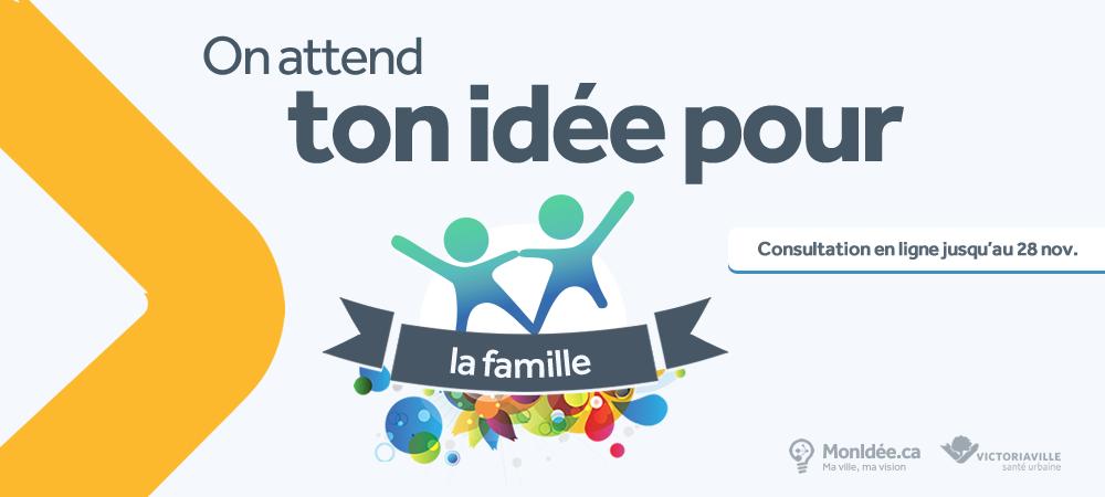 Mieux connaître nos familles et leurs besoins: lancement d'une grande consultation publique