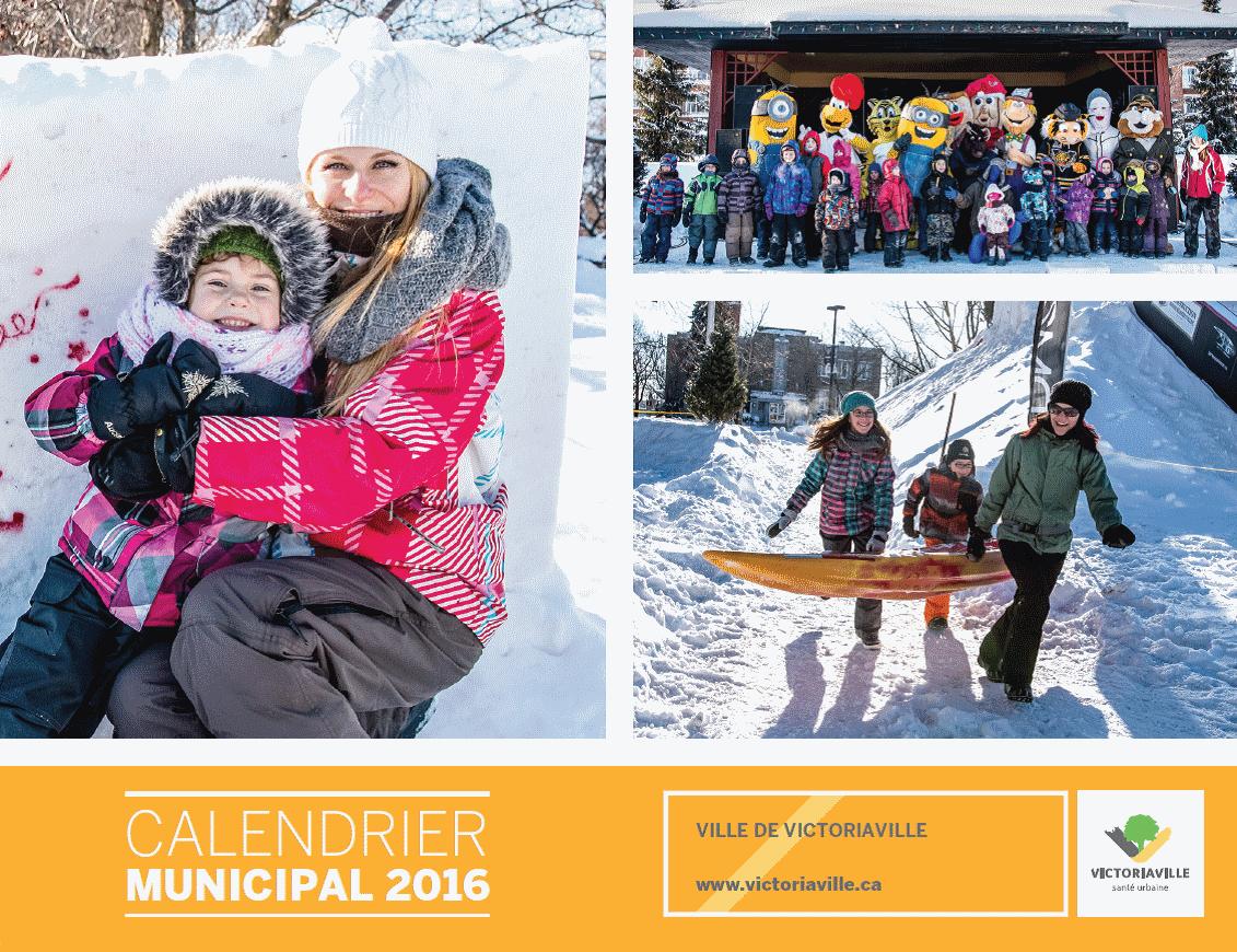 Lancement du calendrier municipal 2016