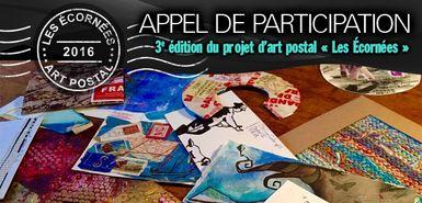 3e édition du projet d'art postal Les Écornées