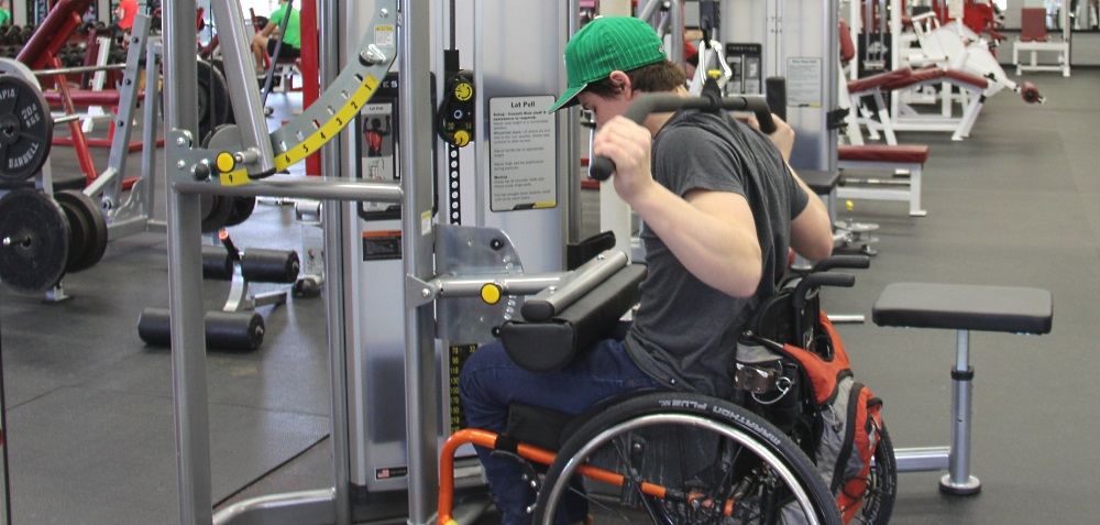 Un circuit de conditionnement physique adapté aux personnes en situation de handicap