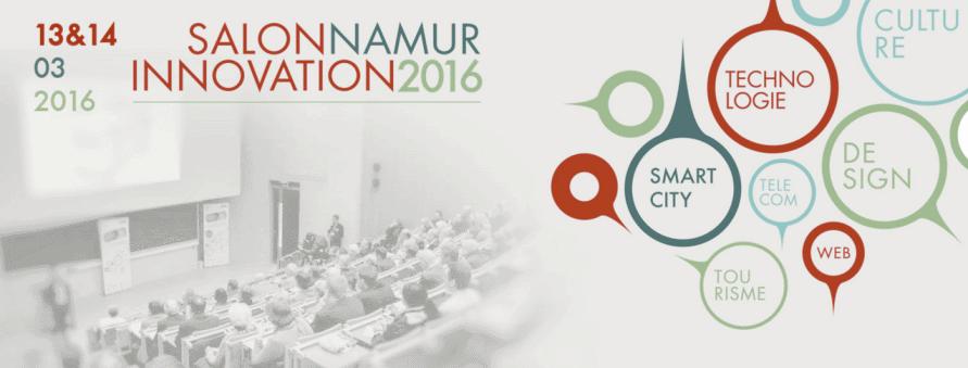 Cet événement se déroule en marge de NINO, le Salon Namur Innovation 2016.