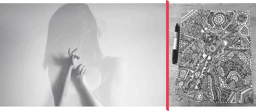 La jeune artiste Emma Tessier-Langevin offre 2 expositions à Victoriaville