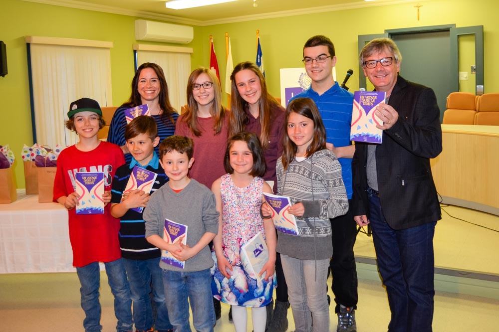 Lancement du recueil 2016 du concours littéraire jeunesse Plume