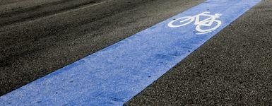 Nouveau lignage de rue pour un meilleur partage de la route