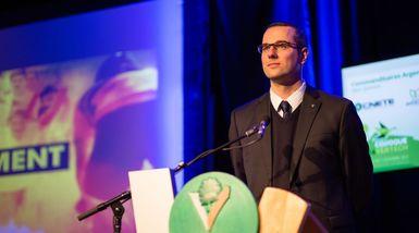 Martin Lessard élu 1er vice-président de l'Association des directeurs généraux des municipalités