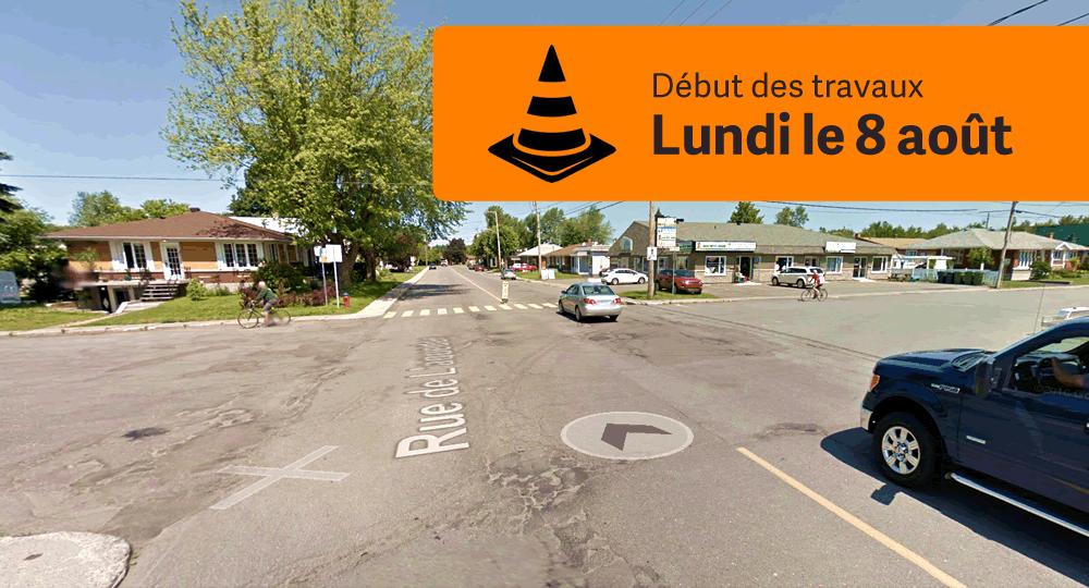 Rue de l'Aqueduc: les travaux débuteront le 8 août 2016