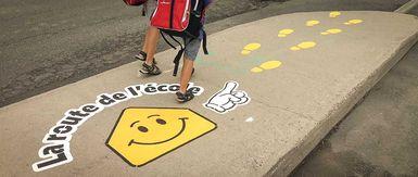 Les Parcours ludiques: un pas de plus pour encourager le transport actif