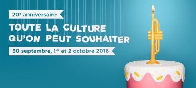 Les Journées de la Culture, c'est bientôt!