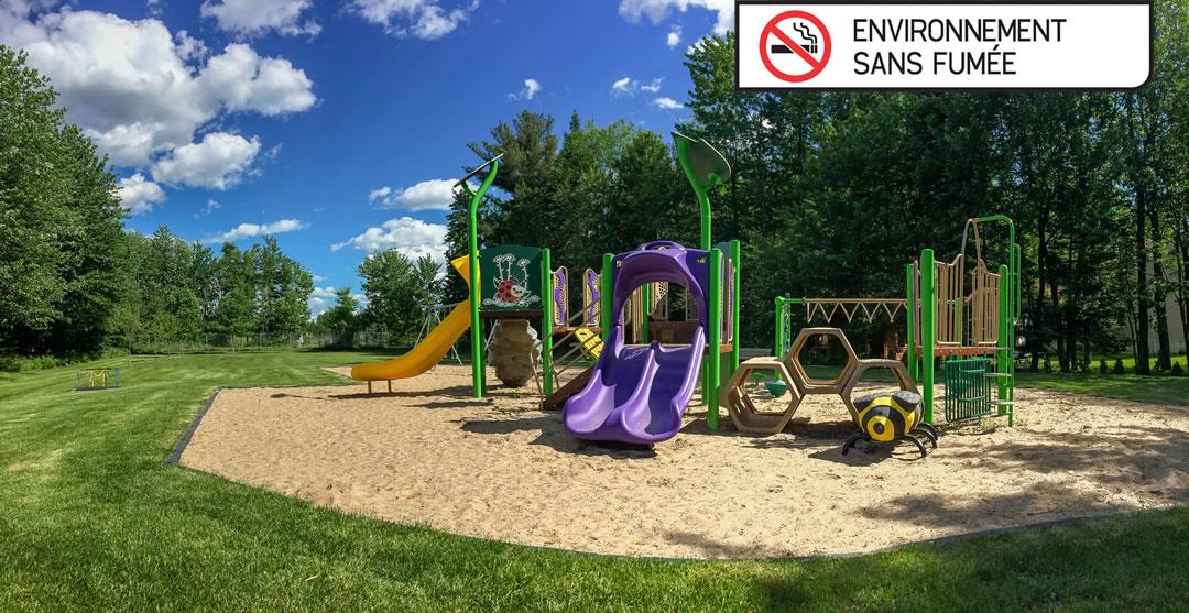 Nouvelle signalisation pour un environnement sans fumée dans nos parcs