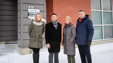 La Jeune Chambre de Victoriaville emménage dans l'incubateur industriel