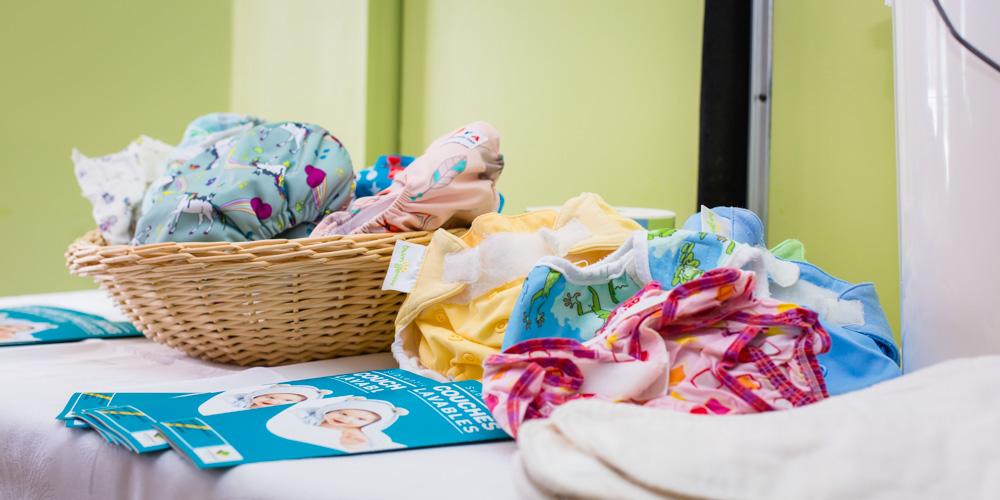 Victoriaville applique des ajustements à son programme de subvention de couches lavables
