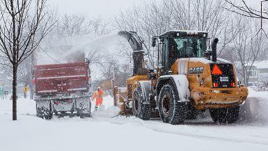 Opération ramassage de la neige: la prudence est de mise