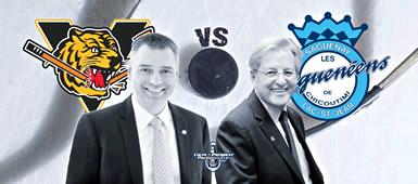 Tigres vs Saguenéens: un défi pour les maires Bellavance et Tremblay