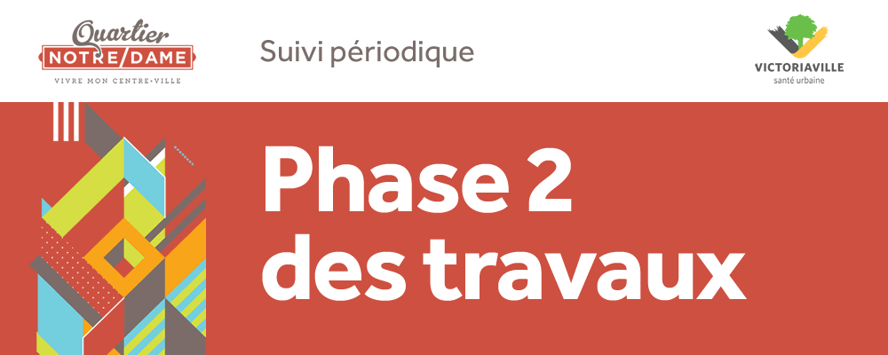 Commerçants et résidents, vivez la 2e phase de la transformation du centre-ville