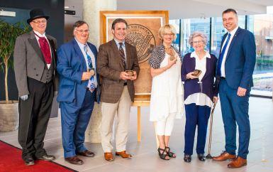 L'Ordre Victorien 2017 remis à quatre récipiendaires émérites