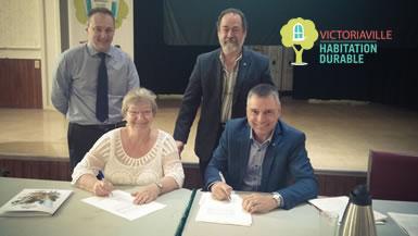 Val-David adopte le programme Victoriaville Habitation DURABLE