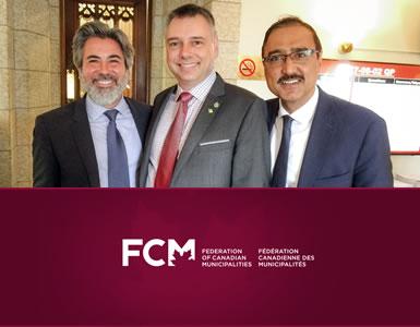 Le maire de Victoriaville élu au sein du CA de la Fédération canadienne des municipalités