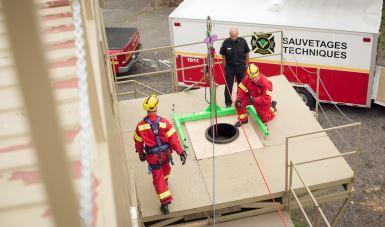 110 certificats remis par le Centre régional de formation des pompiers de Victoriaville