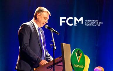 Nouvelle nomination pour André Bellavance au sein de la Fédération canadienne des municipalités