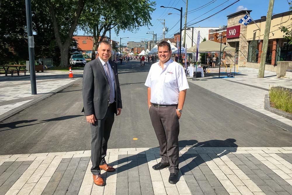 Un centre-ville accessible, actuel et accueillant pour Victoriaville
