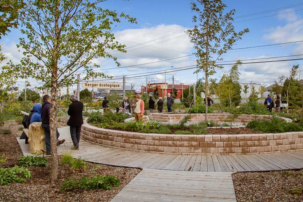 Le Jardin des rendez-vous gagne en superficie grâce au Jardin-Forêt