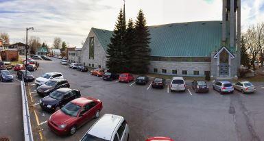 Fermeture temporaire du stationnement de l'Église des Saints-Martyrs-Canadiens