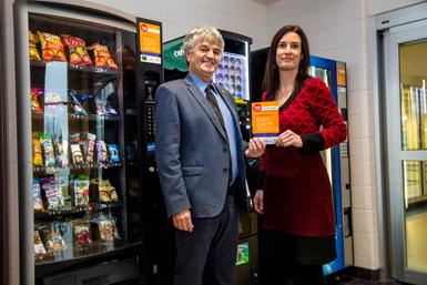 Virage santé pour des machines distributrices à Victoriaville