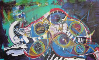 L'artiste peintre France Hébert expose à l'hôtel de ville