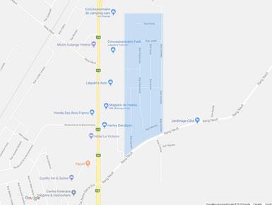 Ajout des services d'aqueduc et d'égout dans le secteur Cormier