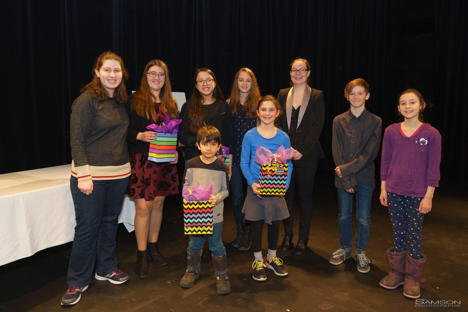 Dévoilement des gagnants du concours Plume 2018